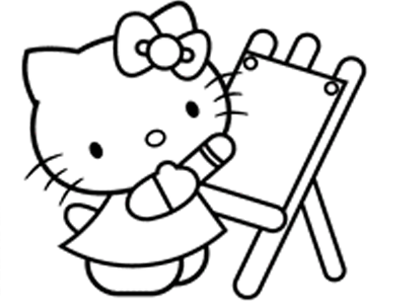 children coloringbookhellokitty hello kitty painting art coloring book