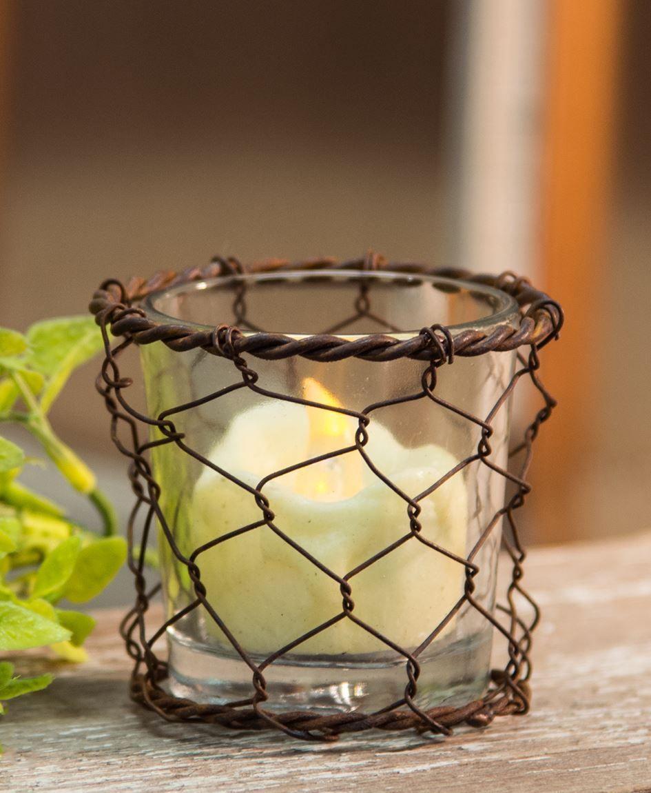 Chicken Wire Basket Light Basket lighting, Wire baskets