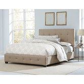 Found it at Wayfair - Madison Square Upholstered Panel Bed