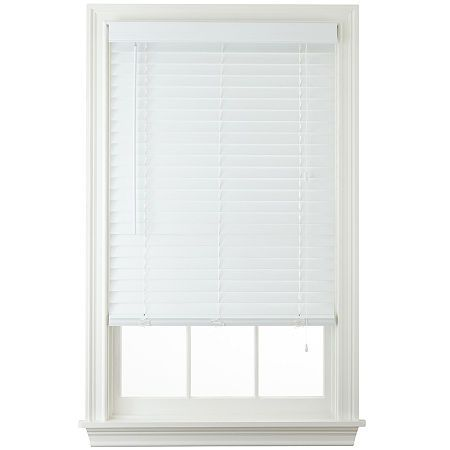 Jcpenney Home 2 Faux Wood Horizontal Blinds Faux Wood Blinds