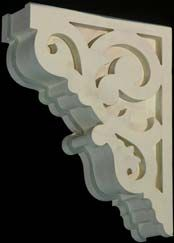 Victorian Gingerbread Corbels From Empire Woodworks Although This Would Better Support Counter Tops Gable Decorations Corbels Victorian Style Homes