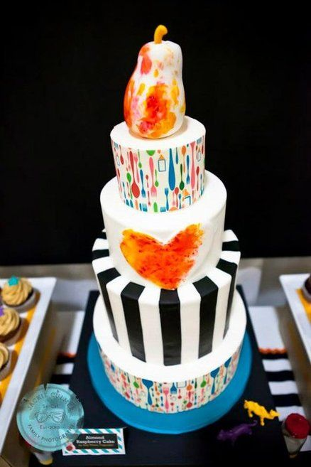Baby Bistro cake by Hey There, Cupcake