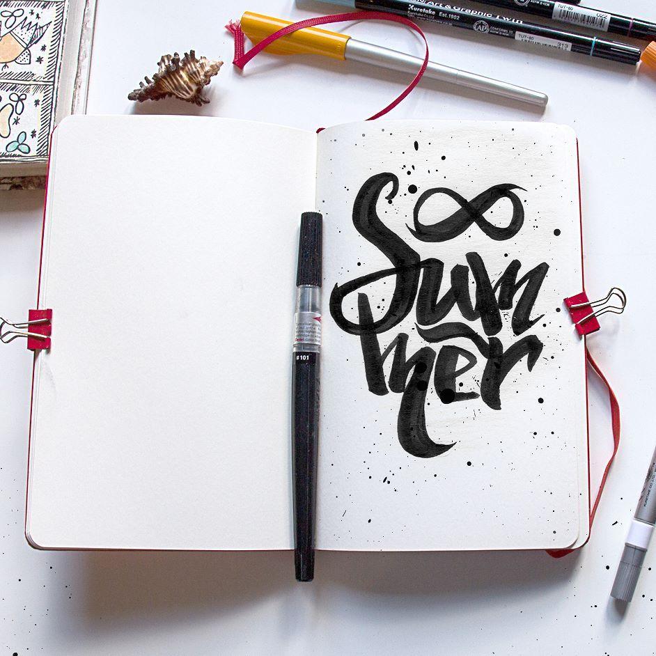 Когда появляются в мыслях новые идеи и кажется что воплотить их так же сложно как запустить ракету в космос. Веет страхом и какой-то особенной радостью. Значит туда и дорога. Лето 2016 началось.  #summer #summertime #lovely #Moscow #instagood #art #instapic #picoftheday #lettering #calligraphy #inc #blackbook #brush #brushpen #story #artwork #арт #тушь #леттеринг #блокнот #дизайн #cool #Москва #эскиз #sketch #sketchbook