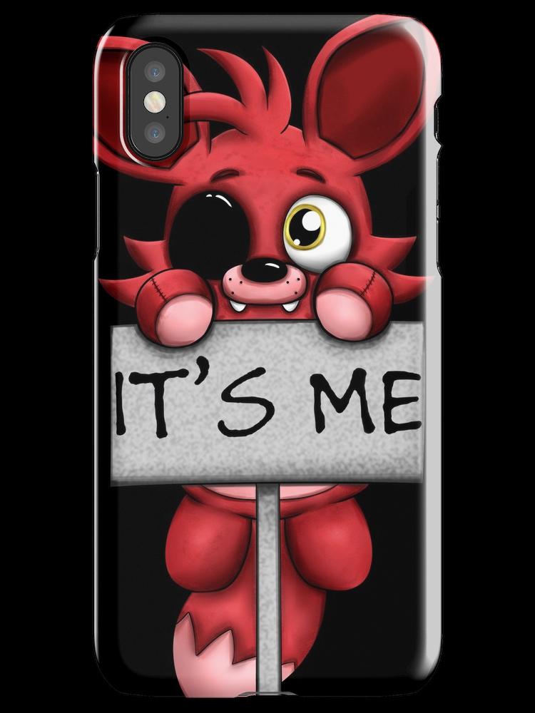 FNAF Plush Foxy iPhone X Snap Case | Fnaf, Iphone cases, Fnaf cosplay