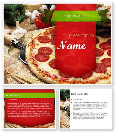 http://www.poweredtemplate/11465/0/index.html italian pizza, Modern powerpoint