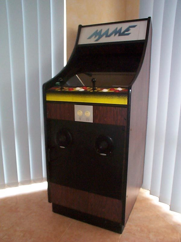 Retrofitting MAME Into An Old Arcade Cabinet.