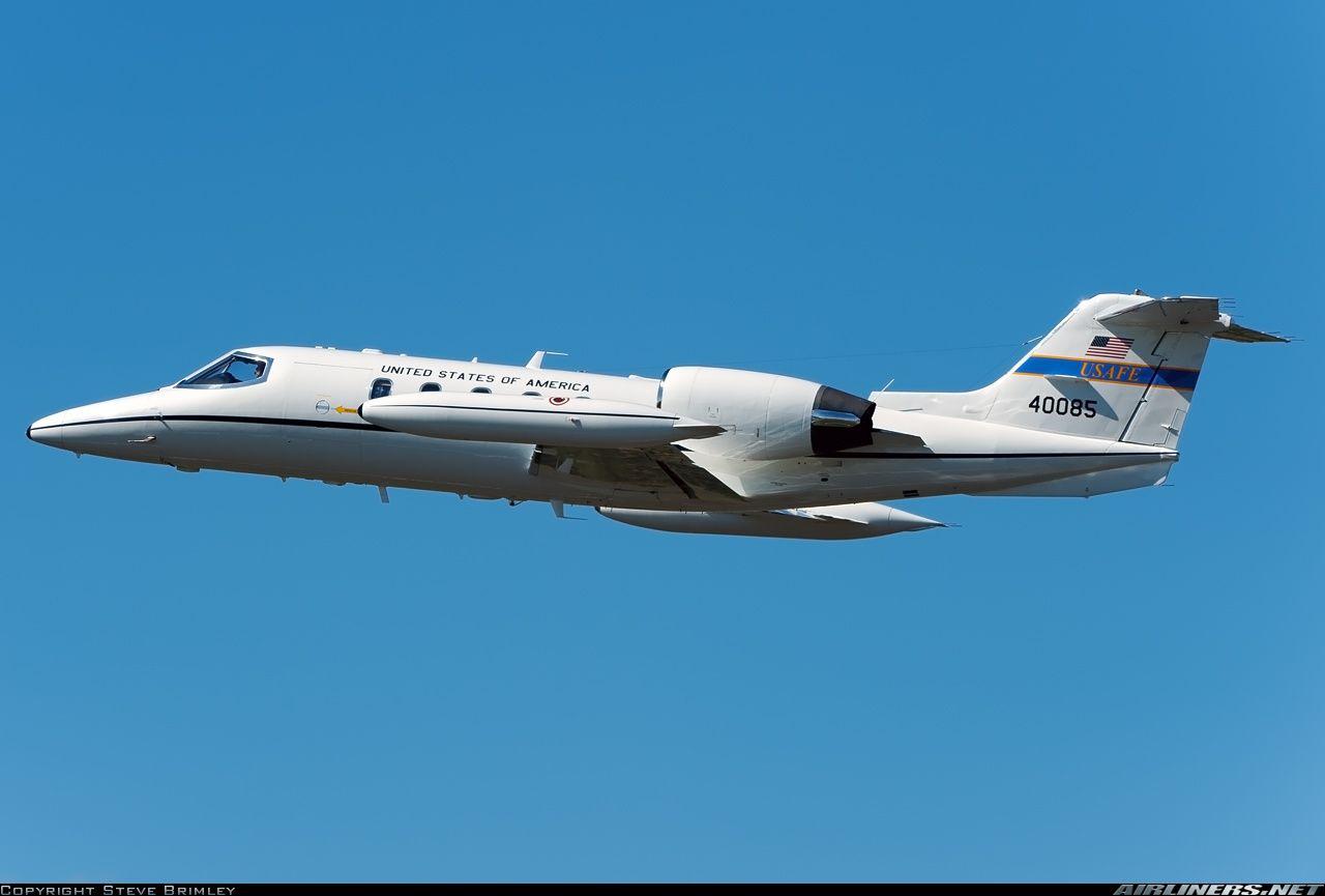 Gates Learjet C-21A, US Air Force, 84-0085, cn 35A-531. Fairford, United Kingdom, 19.7.2015.