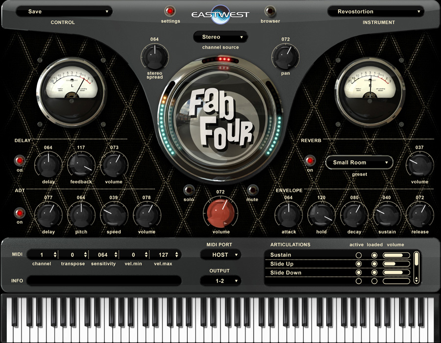 EastWest Fab Four Virtual Instruments [Download] | Products