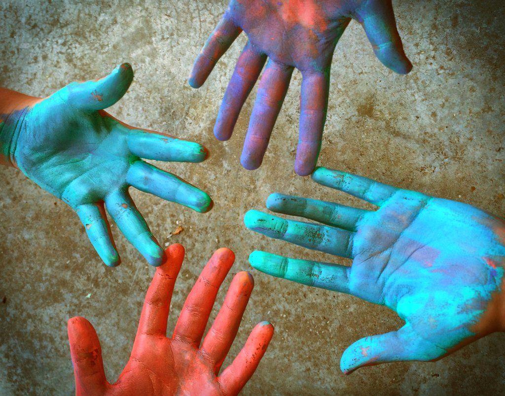 Helping Hands . . .