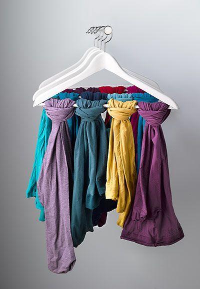 Comment ranger ses foulards et écharpes     Idées rangement   Pinterest    Organizing your home, Closet Organization et Organization 0696fe8d542