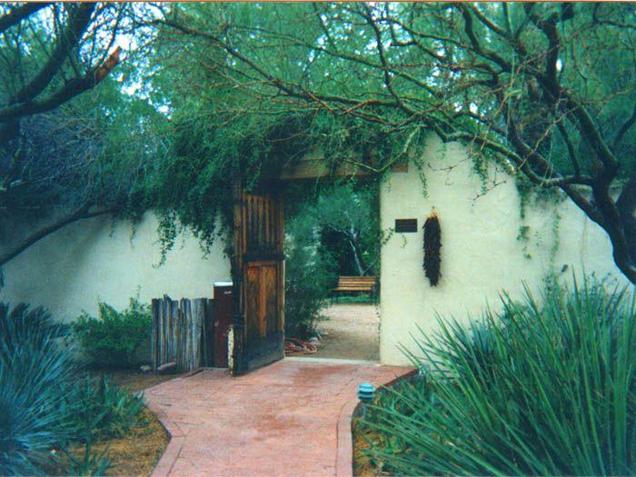 Garden Gate   Tohono Chul Park, Tucson, Arizona