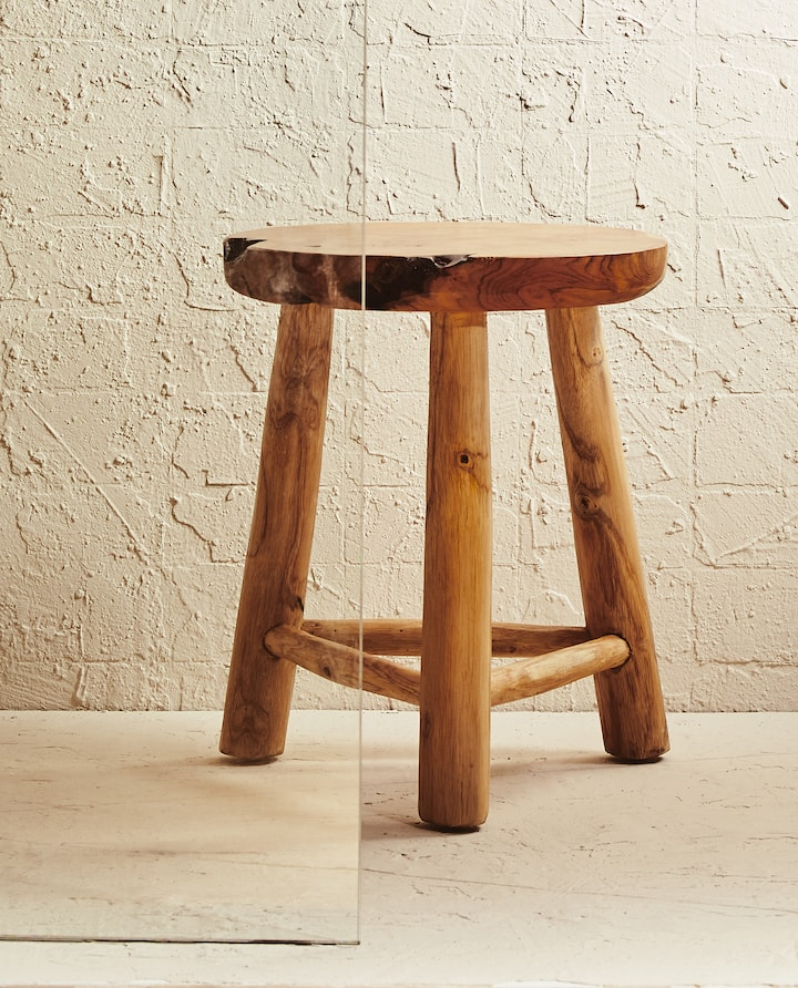 Image Of The Product Wooden Stool