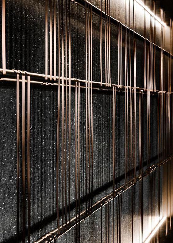Pin By Howl Tsai On One24 Wall Panel Design Metal Mesh Screen Wall Design