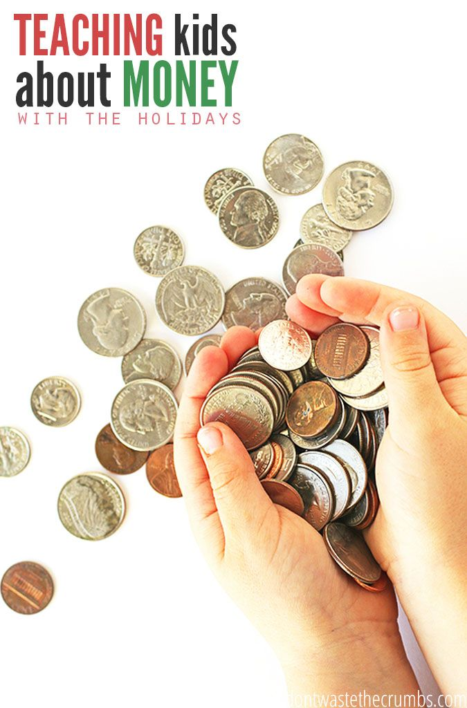 Teaching kids about money doesn't always come easy, but it's an important lesson they need to learn. This post has great ideas on how to take ordinary holiday moments and turn them into moments to teach kids about money. They're simple and practical ways that lead to financial savvy kids! :: DontWastetheCrumbscom