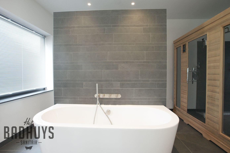 Moderne badkamer met sauna | Het Badhuys | Nieuw huis - Badkamer ...