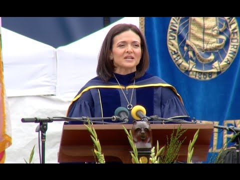 Sheryl Sandberg, Facebook chief, speaks from the heart at ... Sheryl Sandberg How To Give Support Article