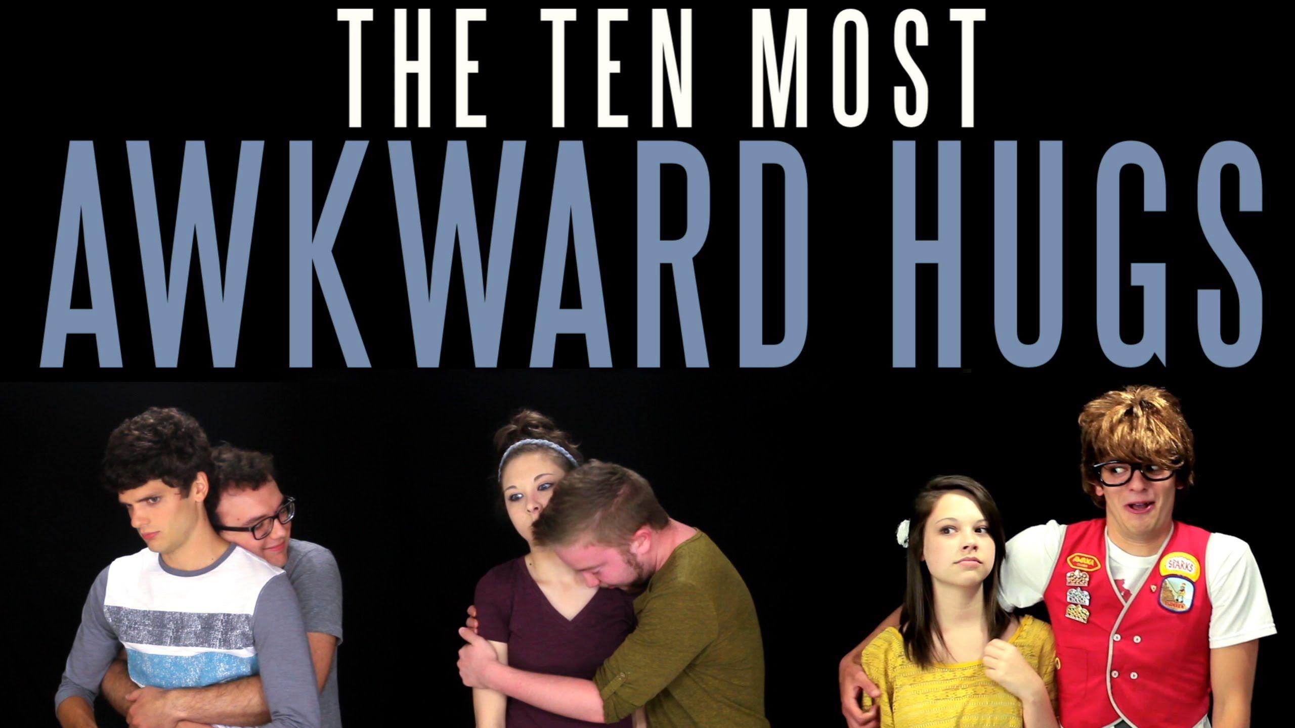 The Ten Most Awkward Hugs Messy Mondays Awkward hug