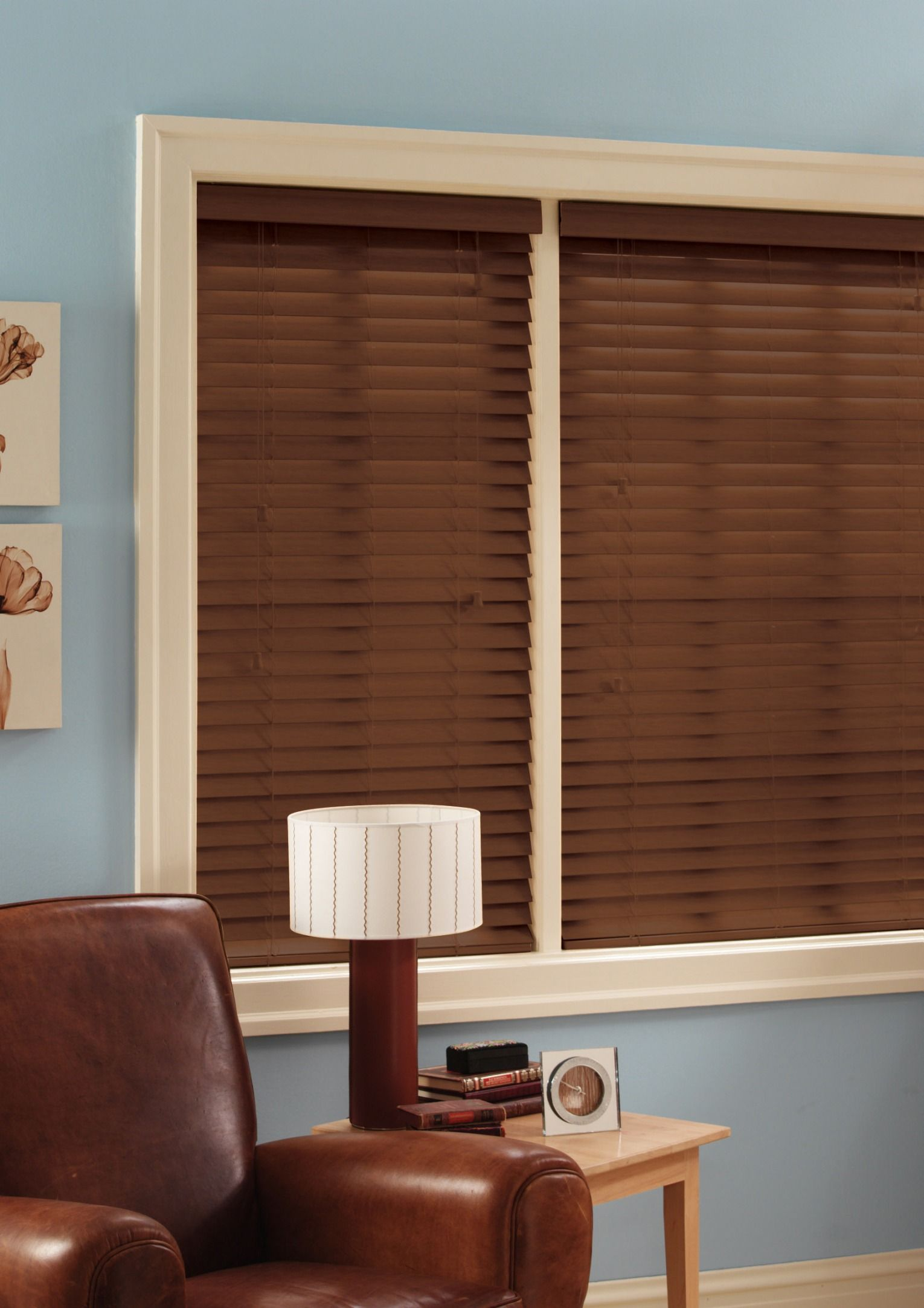 g aluminum faux blinds wood brown mini day incredible inch lowes