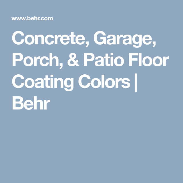 concrete garage porch patio floor coating colors on benjamin moore color chart visualizer id=32452
