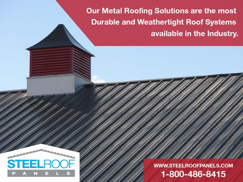 Weather Tight Roof Systems Metalroofpanels Metalroof Roofpanels 1 800 486 8415 Https Steelroofpanels Metal Roof Metal Roofing Materials Steel Roof Panels