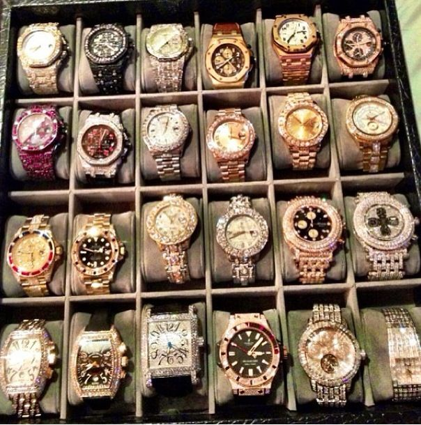 a million one dollar flosses insane timepieces collection hqdefault of watch mayweather kind floyd watches