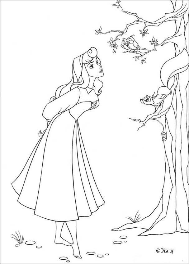 Princess Aurora iColor  - new disney princess coloring pages sleeping beauty