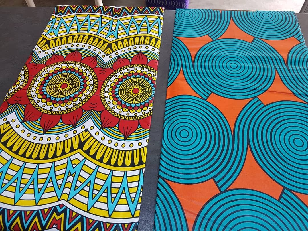 5.5 Yards Wax  Print Fabric Ankara