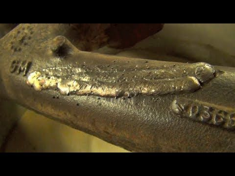 Mig Welding Cast Iron With 308l Wire Welding Cast Iron Mig Welding Metal Working