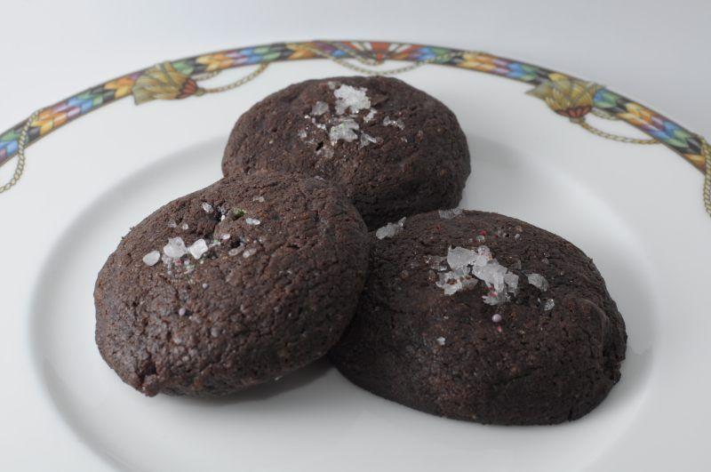Biscotti al doppio cioccolato e menta piperita (da Un americana in ...