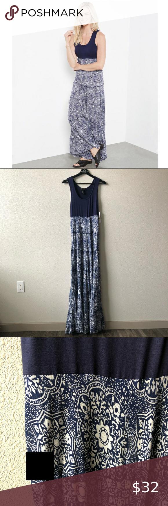 Karen Kane Contrast Fabric Sleeveless Maxi Dress In 2020 Sleeveless Maxi Dress Karen Kane Dress Dresses [ 1740 x 580 Pixel ]
