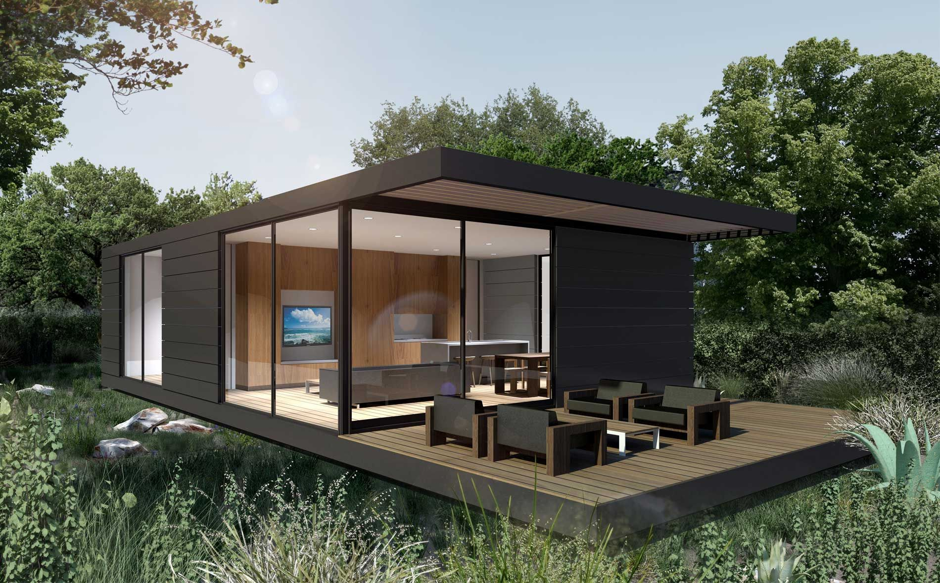 Own A Prebuilt Home Versatile To Any Location Exclusively Designed By World Renowned Artists To Compliment Your St Prefab Homes Modular Home Cost Modular Homes