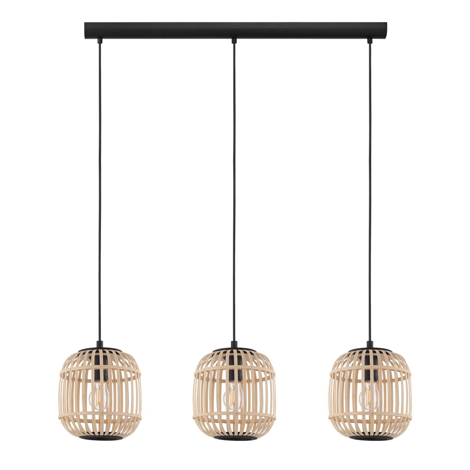 Hanglamp Bordesley 3 Lamps Van Eglo Hanglamp Hangende Lichten Lampen