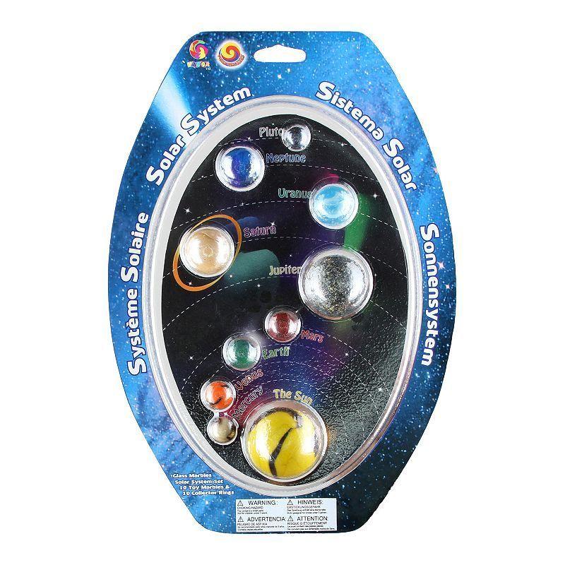 MegaFun USA Solar System Marble Set