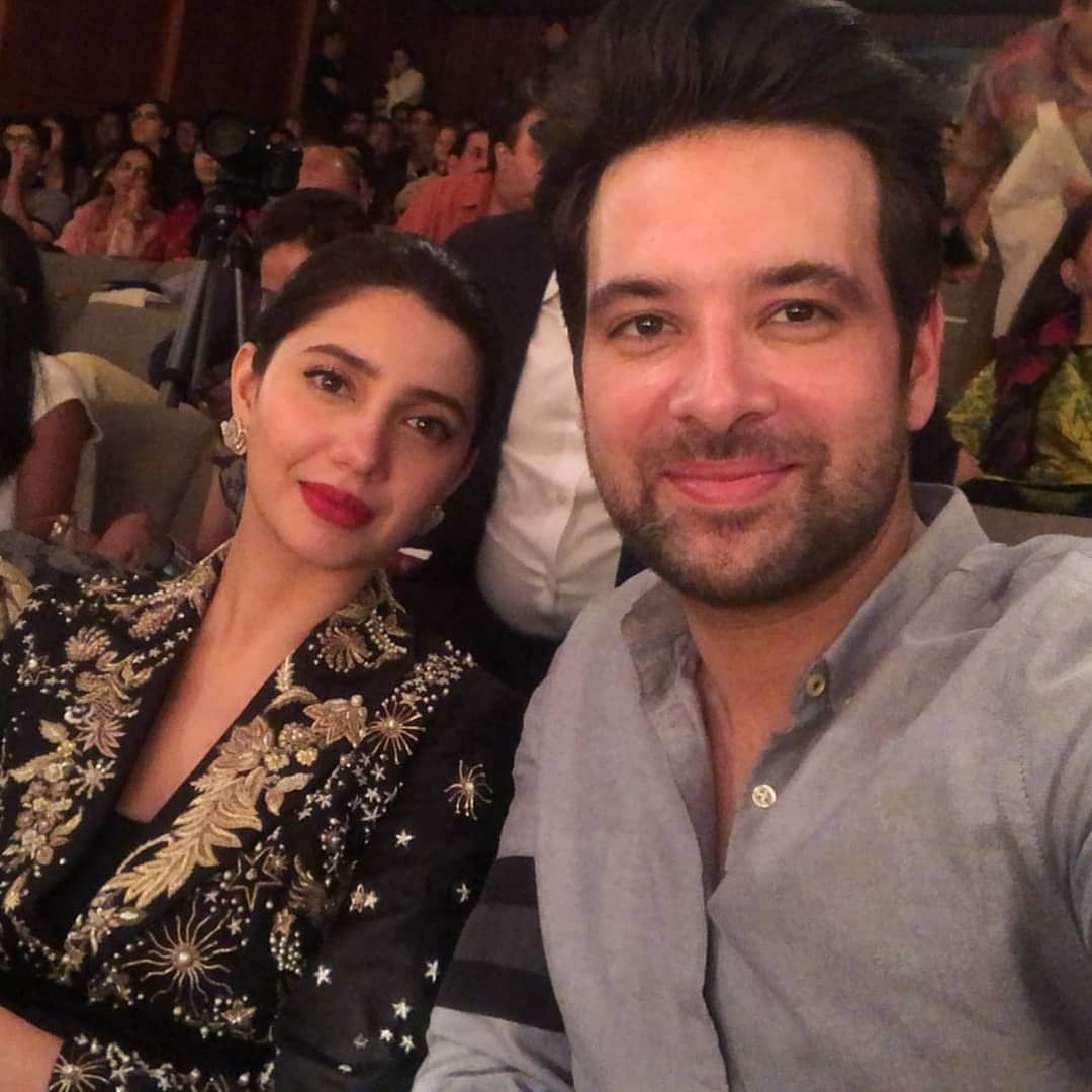 Image result for Mikaal zulfiqar and mahira khan