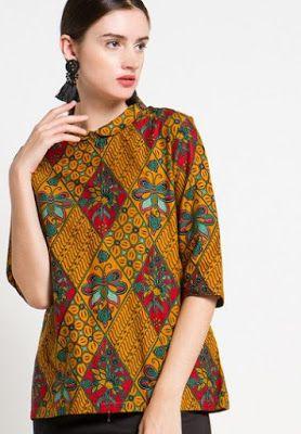 Model Baju Batik Wanita Remaja Terbaru : model, batik, wanita, remaja, terbaru, Batik, Remaja, Model, Pakaian,, Batik,, Pakaian