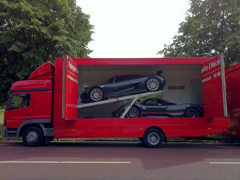 international car transport, covered car transport