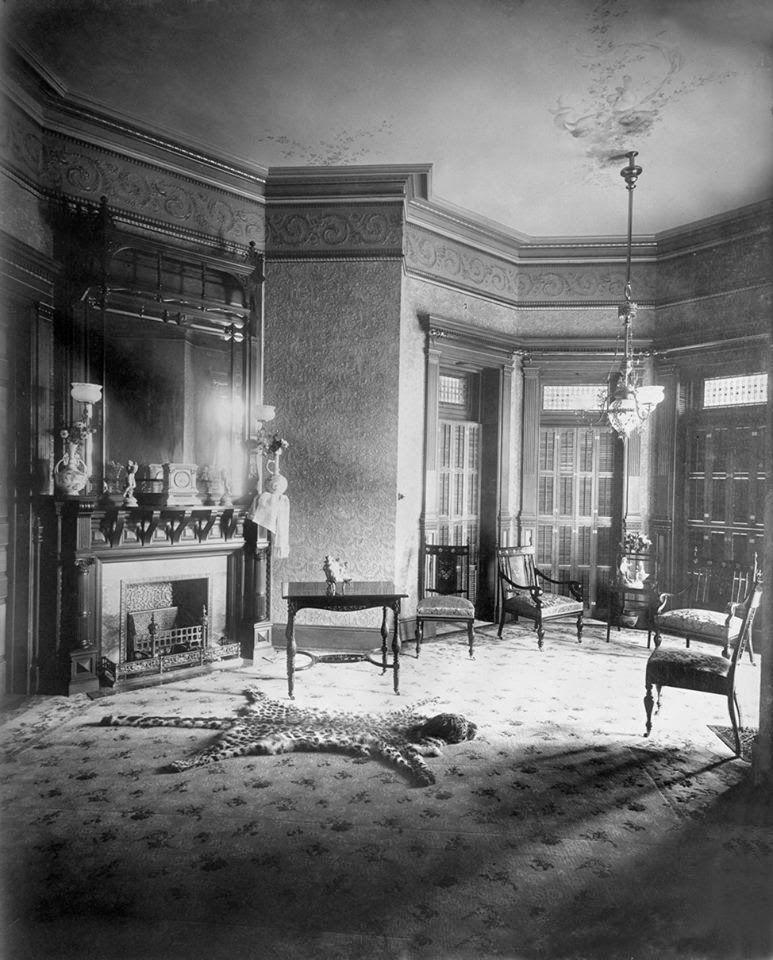 1889 Krueger- Scott Mansion Parlor. It Was