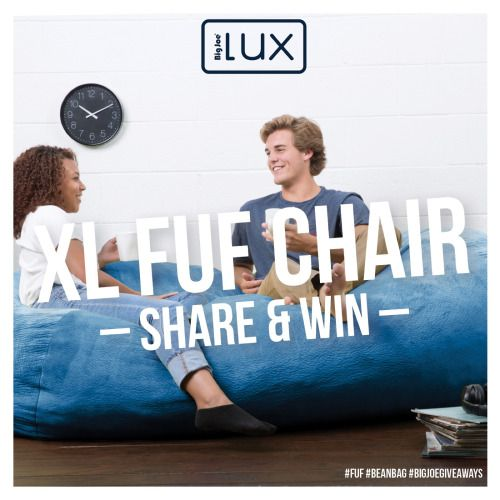 Pleasing Win A Lux Xl Fuf Bean Bag Chair 09 29 2016 Us Via Caraccident5 Cool Chair Designs And Ideas Caraccident5Info