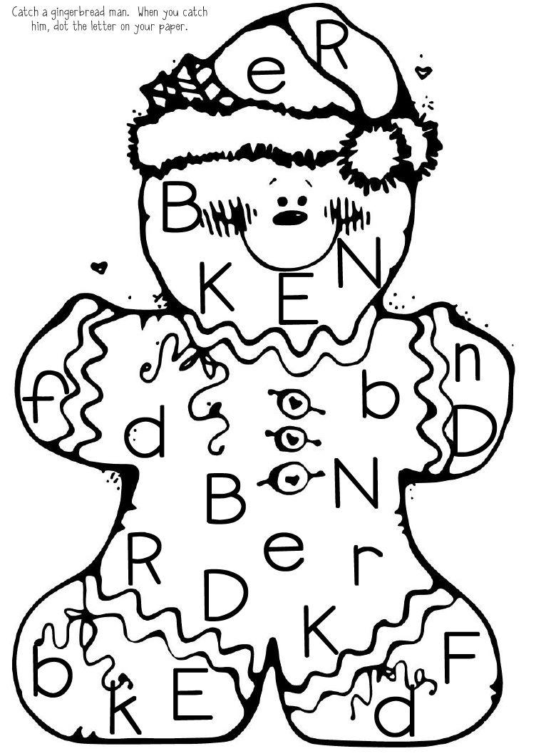 Catch The Gingerbread Man Gingerbread Man Gingerbread Man Kindergarten Christmas Kindergarten [ 1061 x 759 Pixel ]