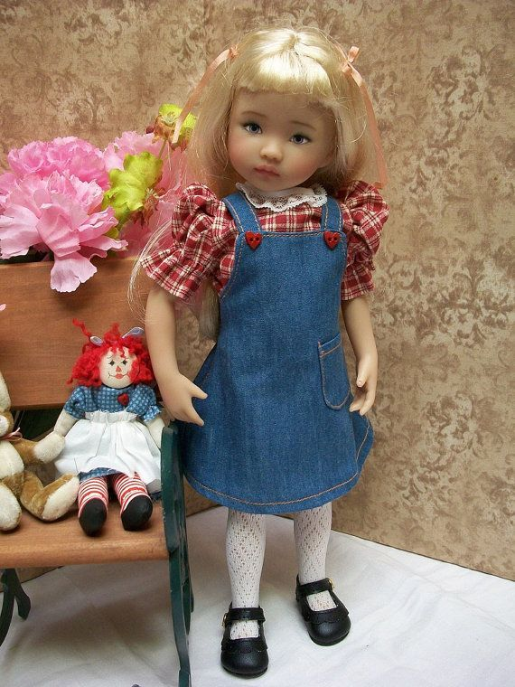 "Skirt Hat /""Saturdays Child/"" #2 13/"" Effner  Little Darling PATTERN Blouse"