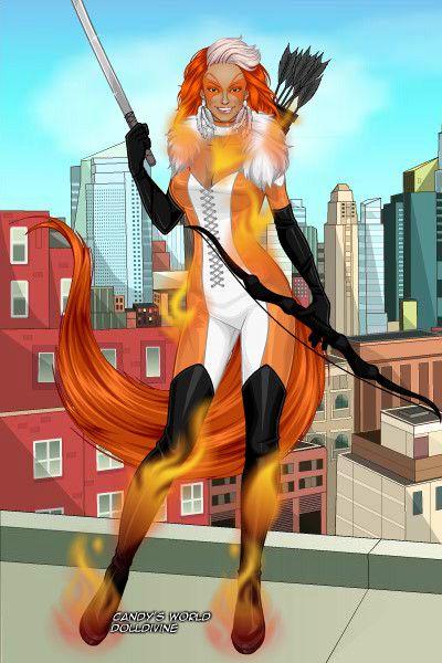Fire by Dotattack ~ Marvel X-Men Dress Up   Doll Divine ... X Men Girls Dress Up