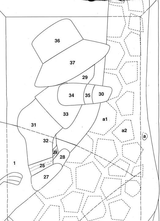 Patrones colcha tecnicas de pacht patrones de colchas - Patrones colcha patchwork ...