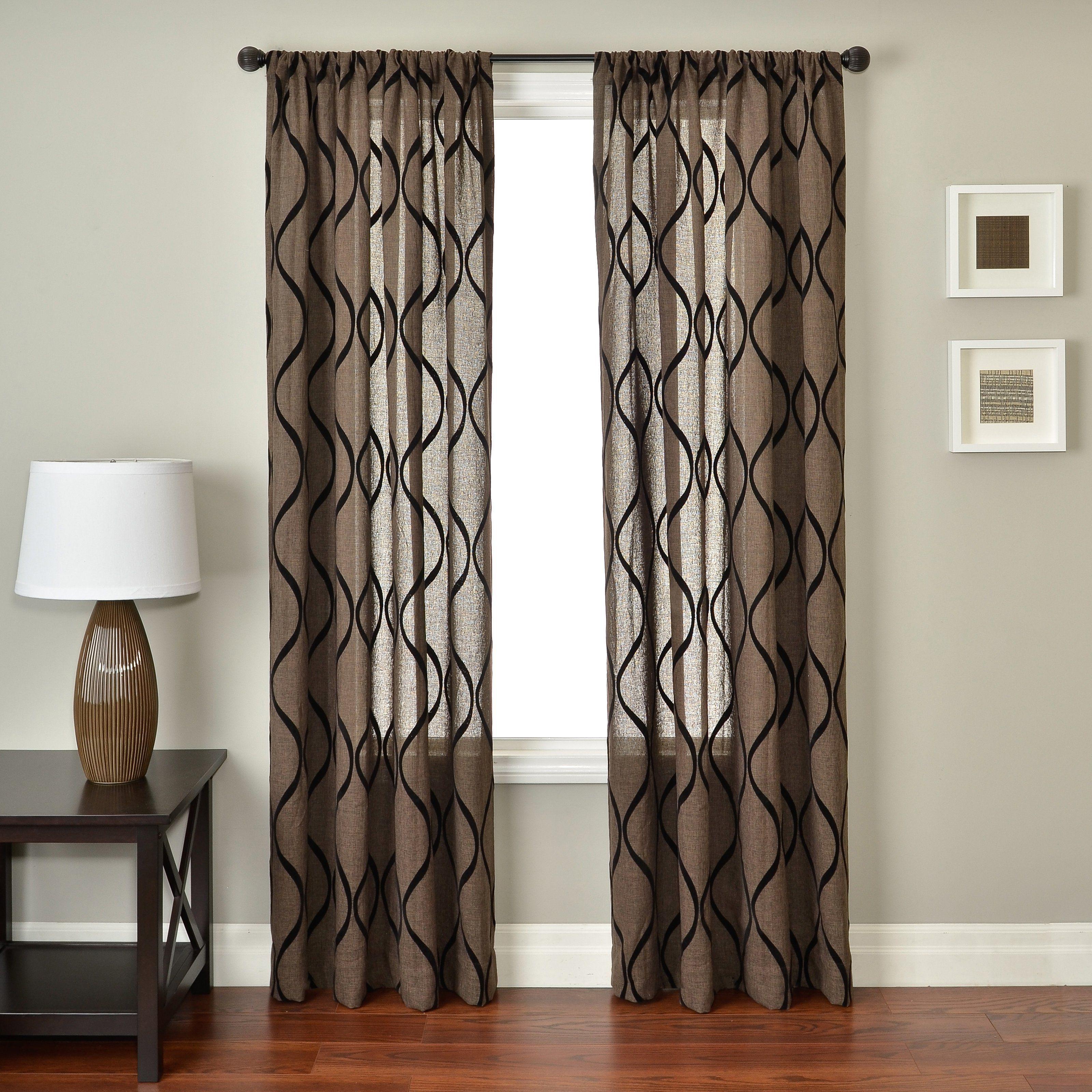 Softline Engie Window Curtain Panel
