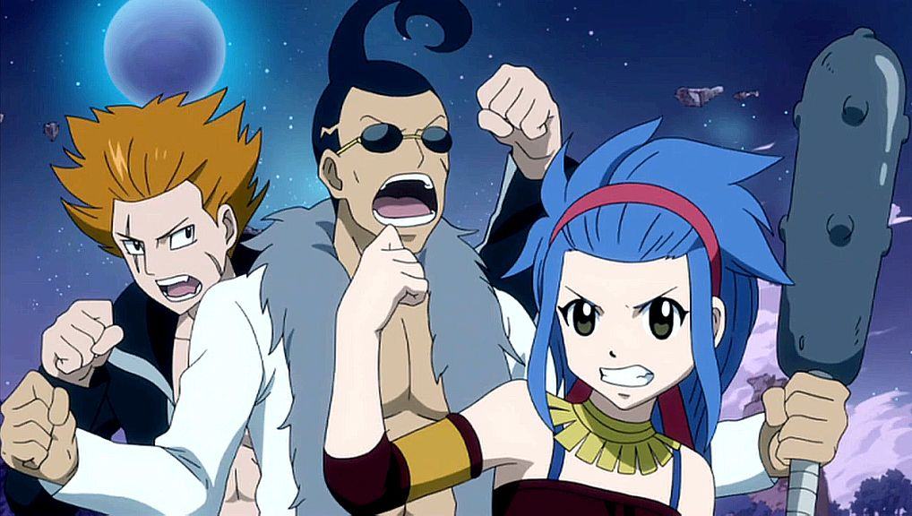 Jet, Droy and Levy before the time skip  Team Shadow Gear whoop