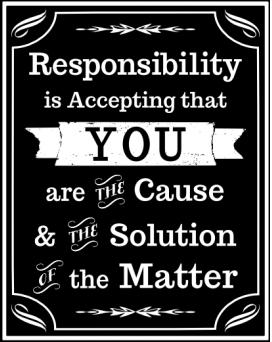 Afbeeldingsresultaat voor responsibility quotes