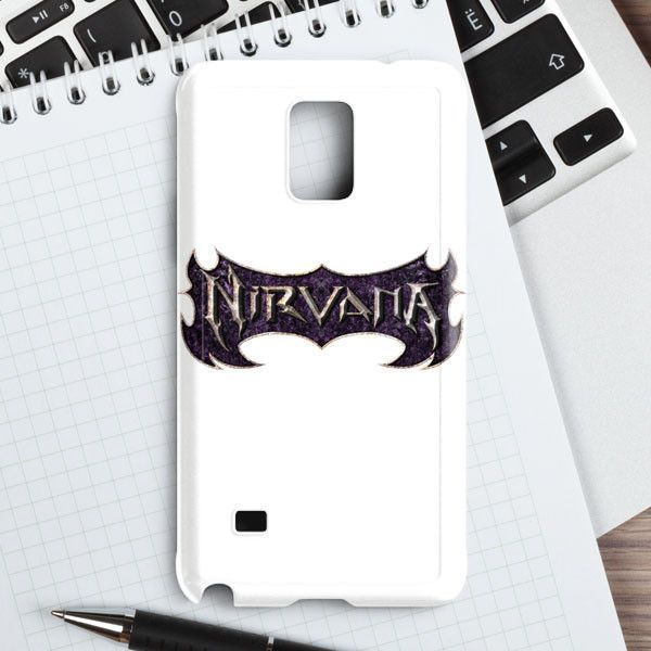 Nirvana White Samsung Galaxy Note 4 Case | casefantasy