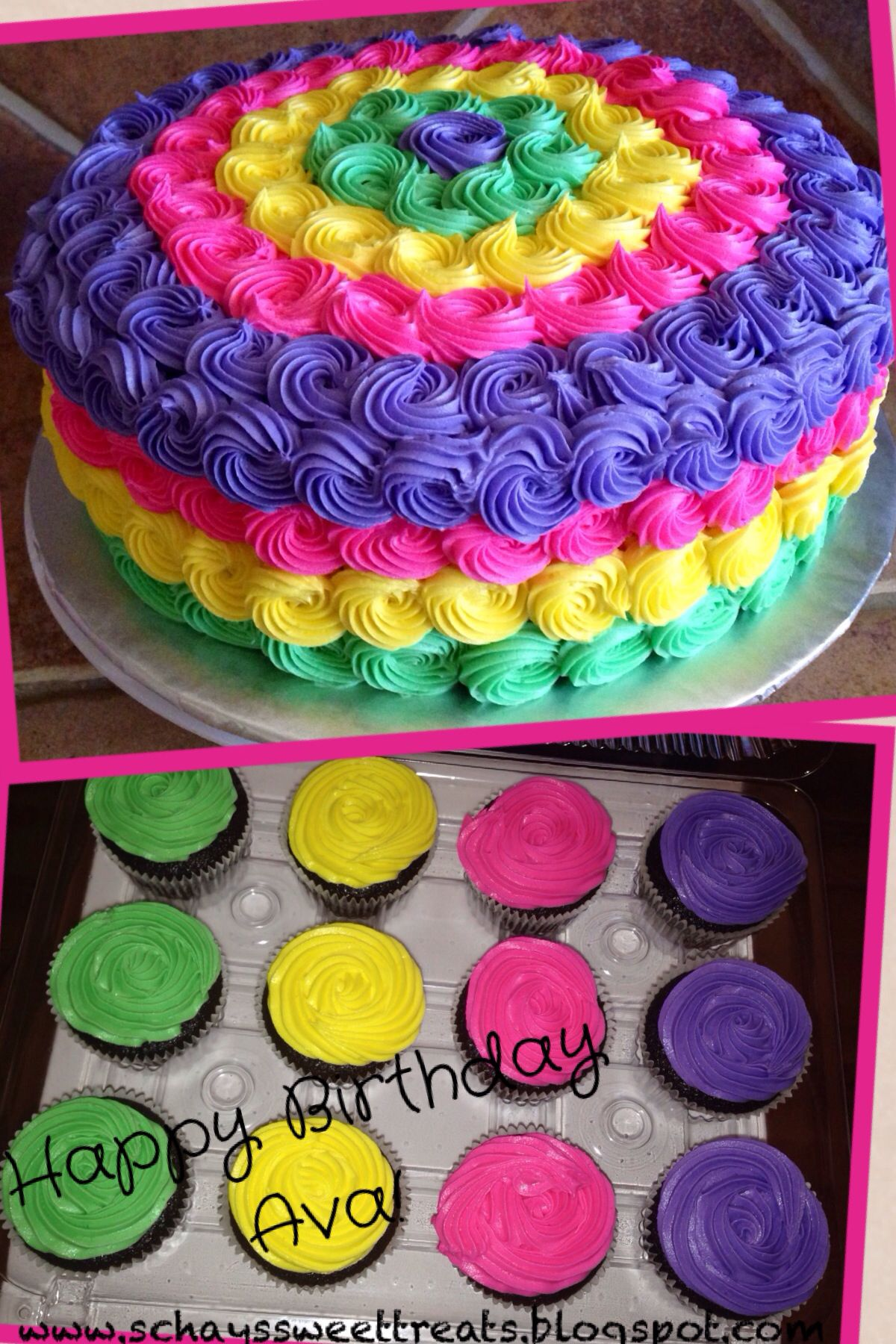 High Sierras Birthday Cake