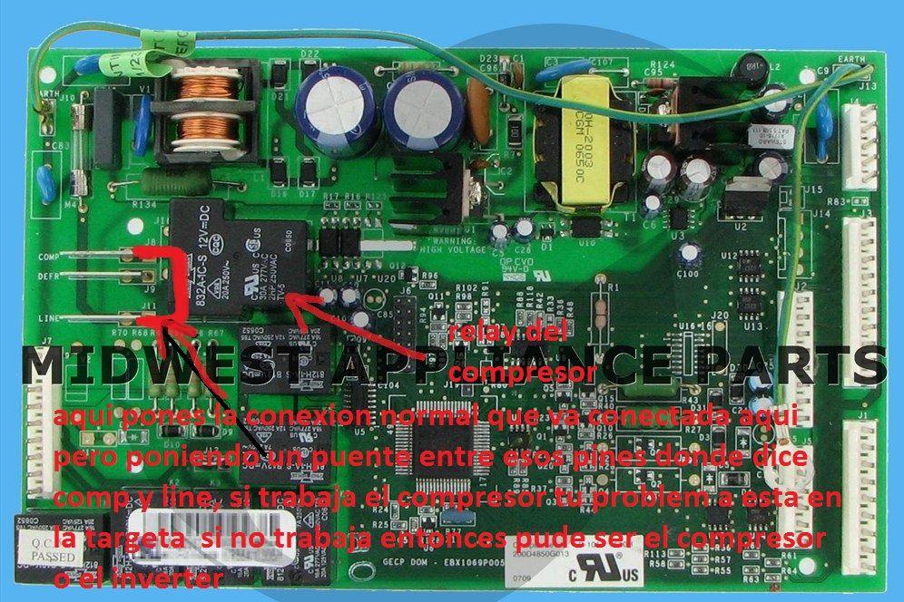 Solucionado] - compresor embraco vcc3 no enciende - Refrigeración ...