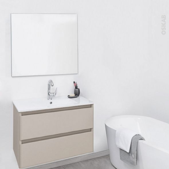 Ensemble Salle De Bain Lave Main Plan Vasque Miroir Bathroom Vanity Single Vanity Vanity