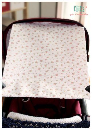 #Sonnensegel für #Kinderwagen / #SolarSail for #baby #buggy